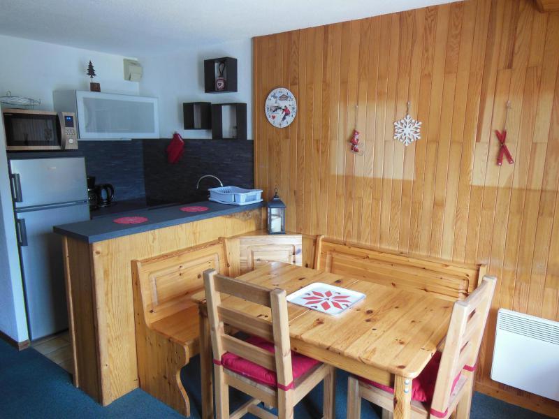 Vakantie in de bergen Appartement 3 kamers 6 personen (052) - Résidence le Centre - Champagny-en-Vanoise - Woonkamer