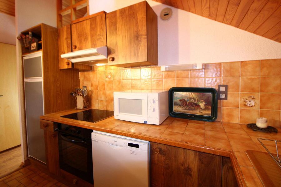 Vakantie in de bergen Appartement 4 kamers 8 personen (014) - Résidence le Centre - Champagny-en-Vanoise - Keukenblok