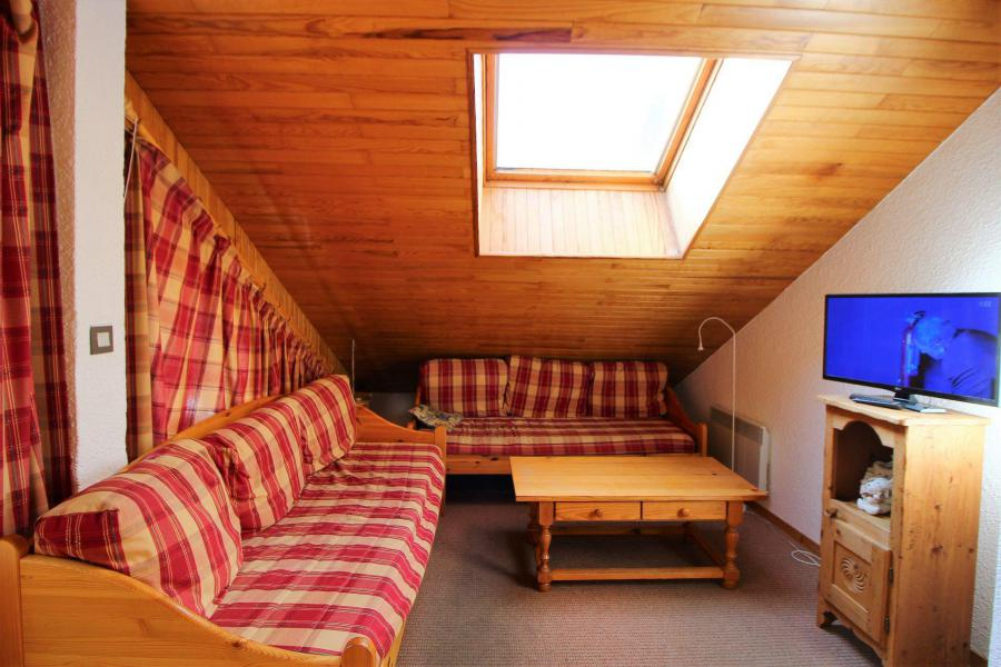 Vakantie in de bergen Appartement 4 kamers 8 personen (014) - Résidence le Centre - Champagny-en-Vanoise - Woonkamer