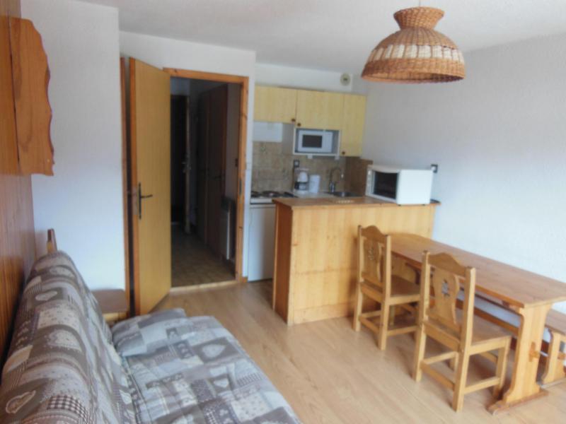 Vakantie in de bergen Studio bergnis 4 personen (027) - Résidence le Centre - Champagny-en-Vanoise - Tafel