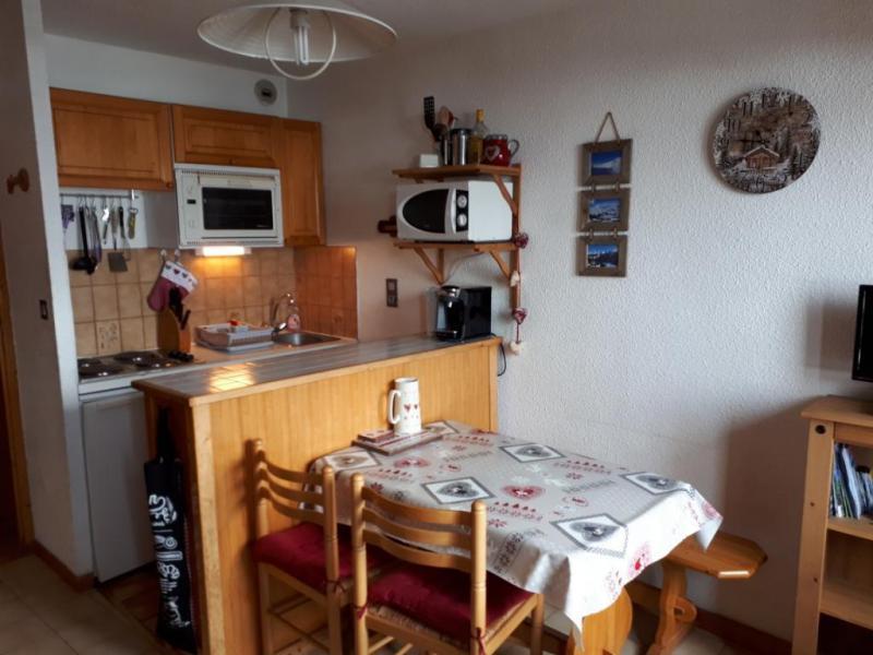 Vakantie in de bergen Studio bergnis 4 personen (028) - Résidence le Centre - Champagny-en-Vanoise - Keukenblok