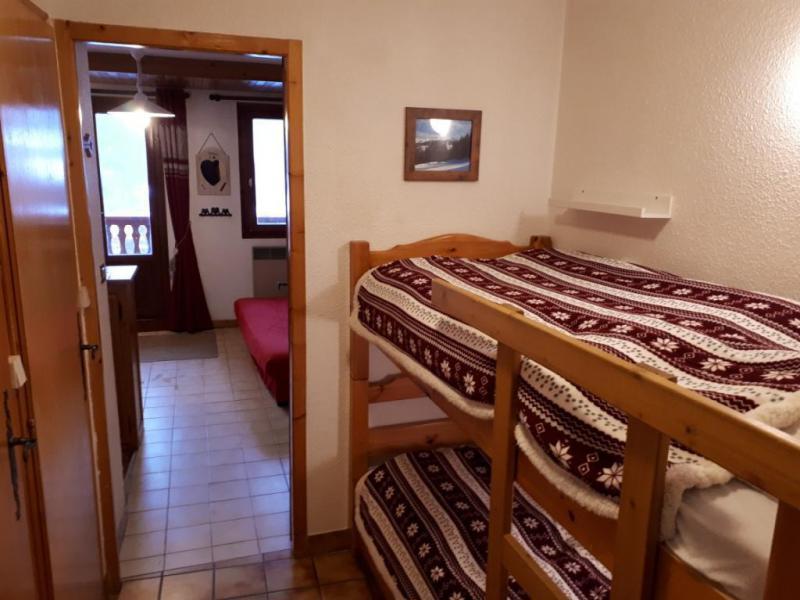 Vakantie in de bergen Studio bergnis 4 personen (028) - Résidence le Centre - Champagny-en-Vanoise - Stapelbedden