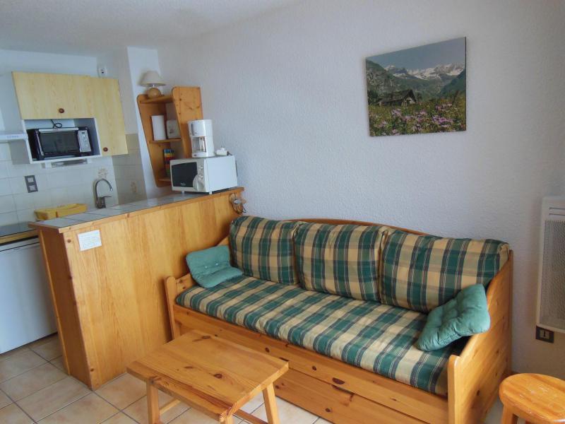 Vakantie in de bergen Studio bergnis 4 personen (16B) - Résidence le Centre - Champagny-en-Vanoise - Bedbank