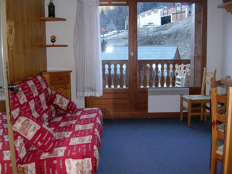 Vakantie in de bergen Studio cabine 4 personen (016) - Résidence le Centre - Champagny-en-Vanoise - Woonkamer