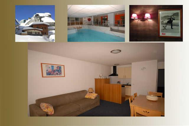 Holiday in mountain resort 3 room apartment 8 people (10) - Résidence le Chalet - Gourette