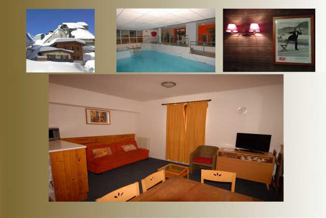 Holiday in mountain resort 2 room apartment 9 people (5) - Résidence le Chalet - Gourette - Accommodation