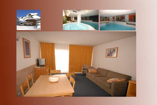 Holiday in mountain resort 2 room apartment 6 people (17) - Résidence le Chalet - Gourette