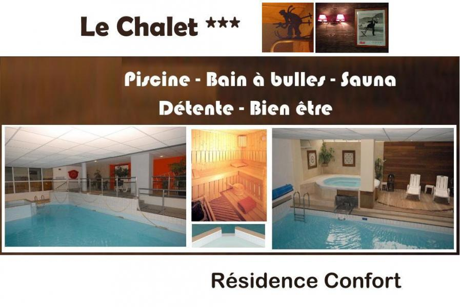 Holiday in mountain resort Résidence le Chalet - Gourette - Plan