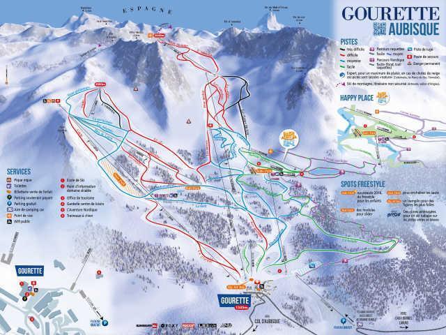 Urlaub in den Bergen Résidence le Chalet - Gourette