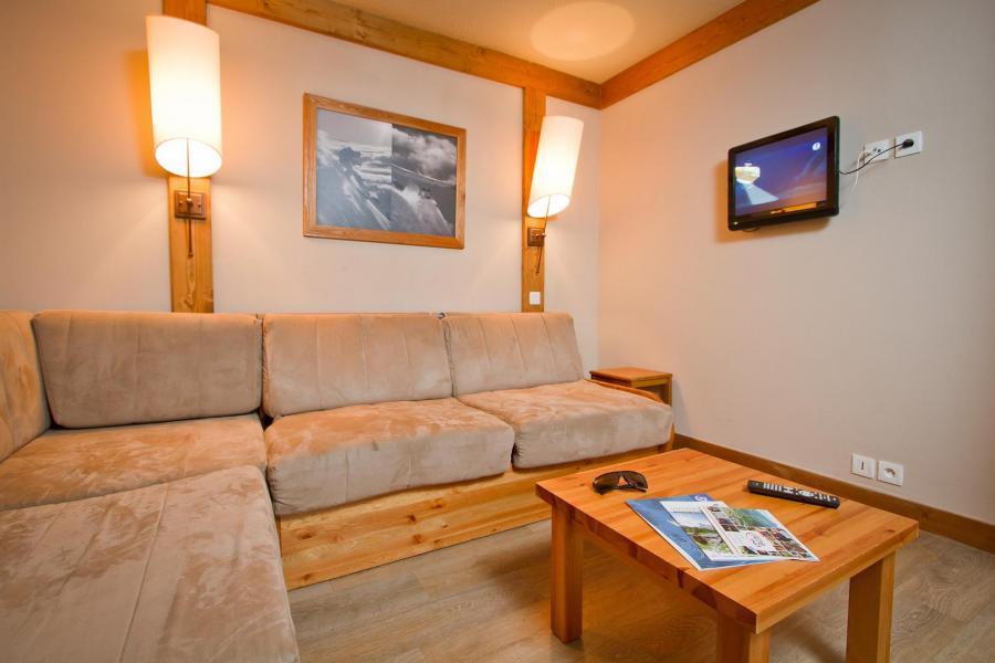 Holiday in mountain resort Résidence le Chalet de Montchavin - Montchavin La Plagne - Living room