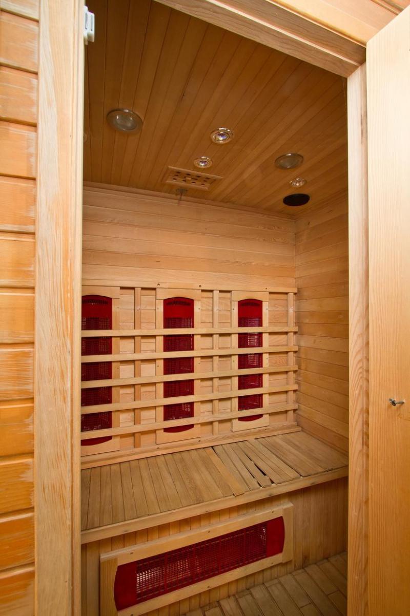 Holiday in mountain resort Résidence le Chalet de Montchavin - Montchavin La Plagne - Sauna