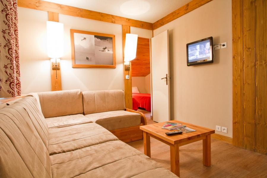 Vakantie in de bergen Résidence le Chalet de Montchavin - Montchavin La Plagne - Woonkamer