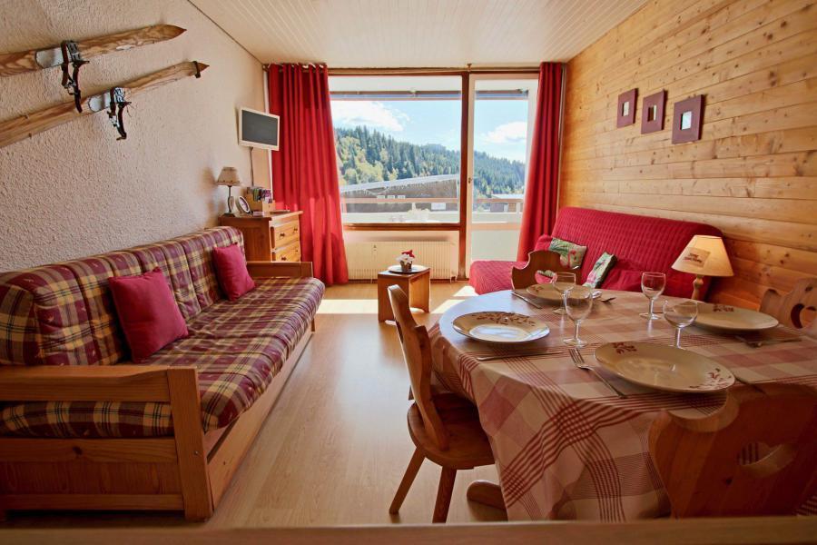 Vacances en montagne Studio 4 personnes (103) - Résidence le Chamois - Chamrousse - Logement