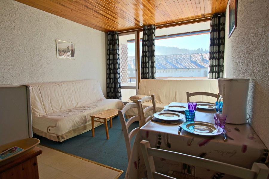 Vacances en montagne Studio coin montagne 4 personnes (108) - Résidence le Chamois - Chamrousse - Table