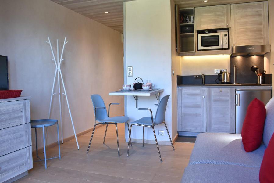 Holiday in mountain resort Studio 2 people (MRB120-017) - Résidence le Chantemerle - Méribel - Kitchenette