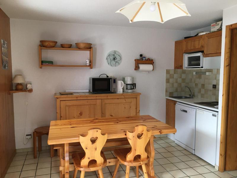 Vakantie in de bergen Appartement 2 kabine kamers 6 personen (011CL) - Résidence le Chardonnet - Champagny-en-Vanoise - Tafel