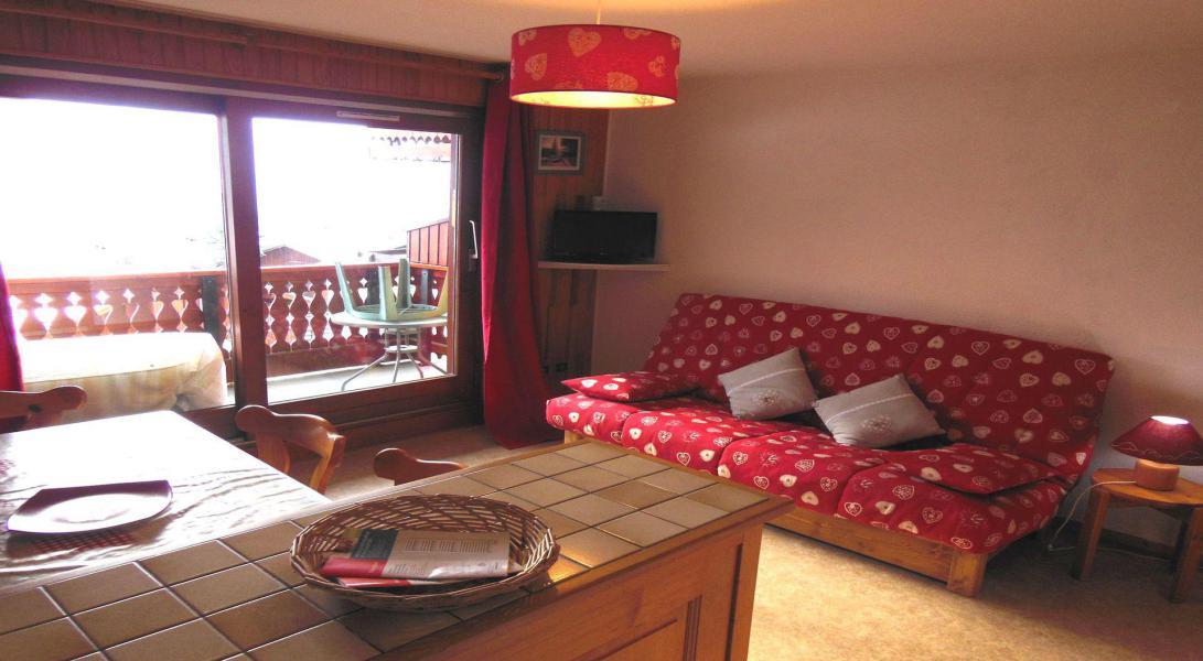 Vakantie in de bergen Appartement 2 kamers 5 personen (014CL) - Résidence le Chardonnet - Champagny-en-Vanoise - Sofa