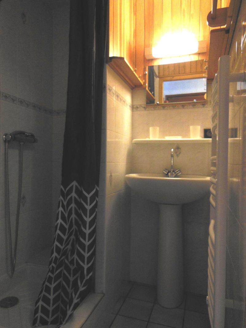 Vakantie in de bergen Appartement 2 kamers 5 personen (014CL) - Résidence le Chardonnet - Champagny-en-Vanoise - Wastafel