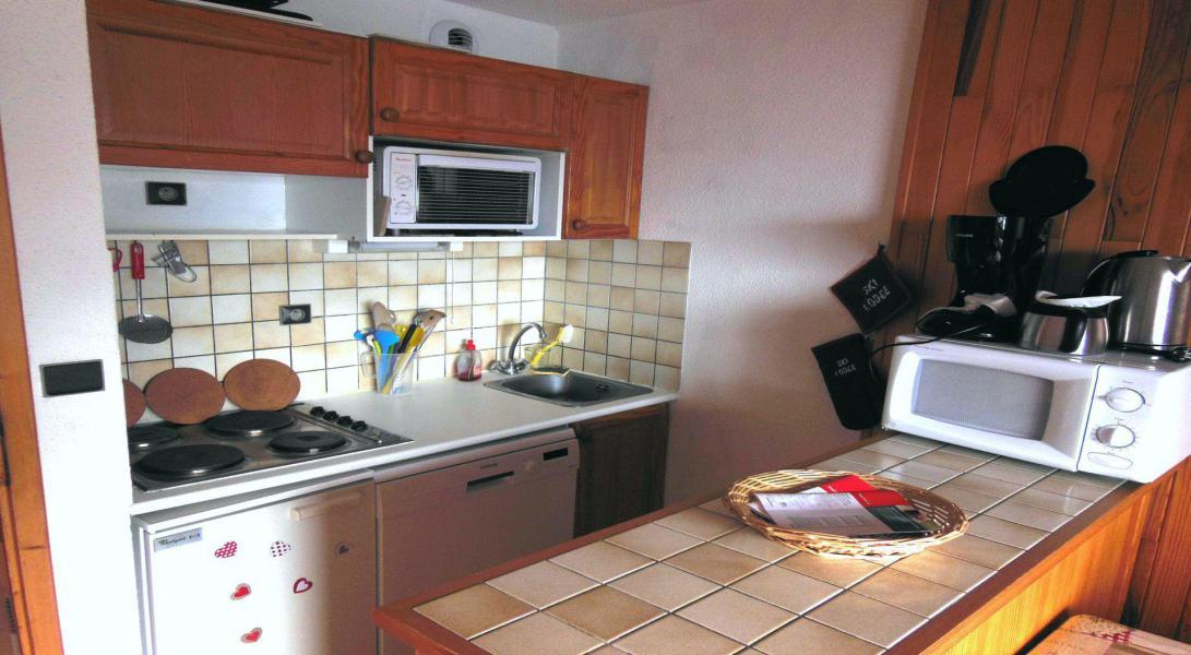 Vakantie in de bergen Appartement 2 kamers 5 personen (014CL) - Résidence le Chardonnet - Champagny-en-Vanoise - Woonkamer