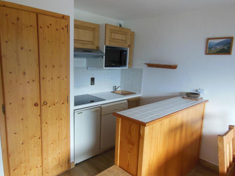 Vakantie in de bergen Appartement 2 kamers bergnis 6 personen (026CL) - Résidence le Chardonnet - Champagny-en-Vanoise - Keukenblok