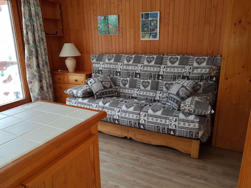 Vakantie in de bergen Appartement 2 kamers bergnis 6 personen (026CL) - Résidence le Chardonnet - Champagny-en-Vanoise - Sofa
