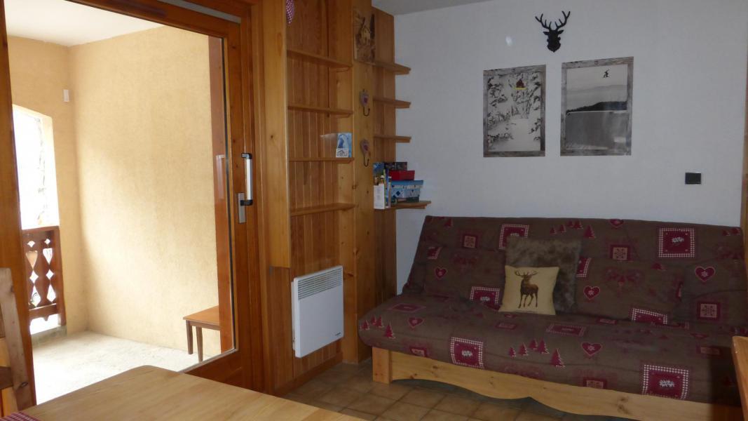 Vacances en montagne Appartement 2 pièces cabine 6 personnes (003CL) - Résidence le Chardonnet - Champagny-en-Vanoise - Canapé