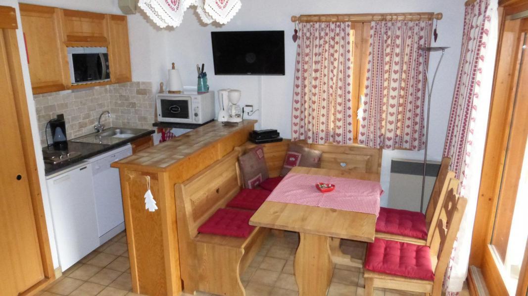Vacances en montagne Appartement 2 pièces cabine 6 personnes (003CL) - Résidence le Chardonnet - Champagny-en-Vanoise - Kitchenette