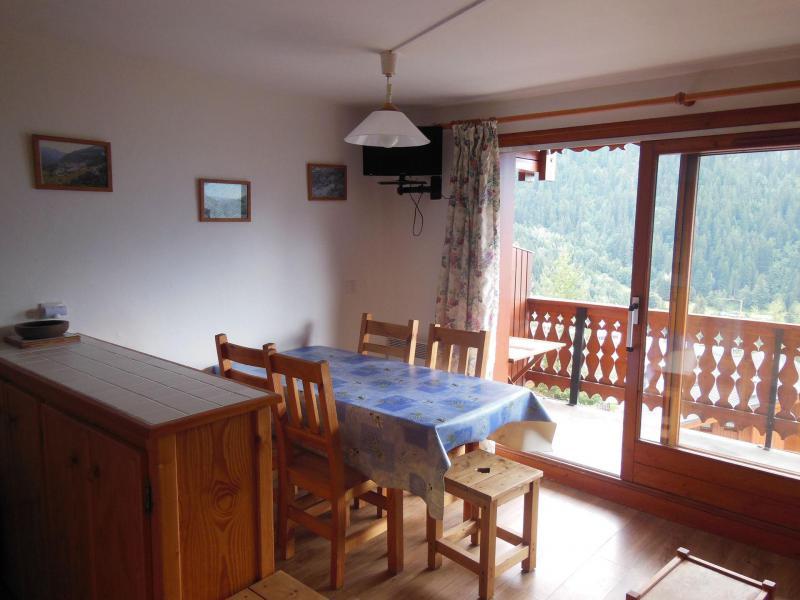 Vacances en montagne Appartement 2 pièces coin montagne 6 personnes (026CL) - Résidence le Chardonnet - Champagny-en-Vanoise - Table