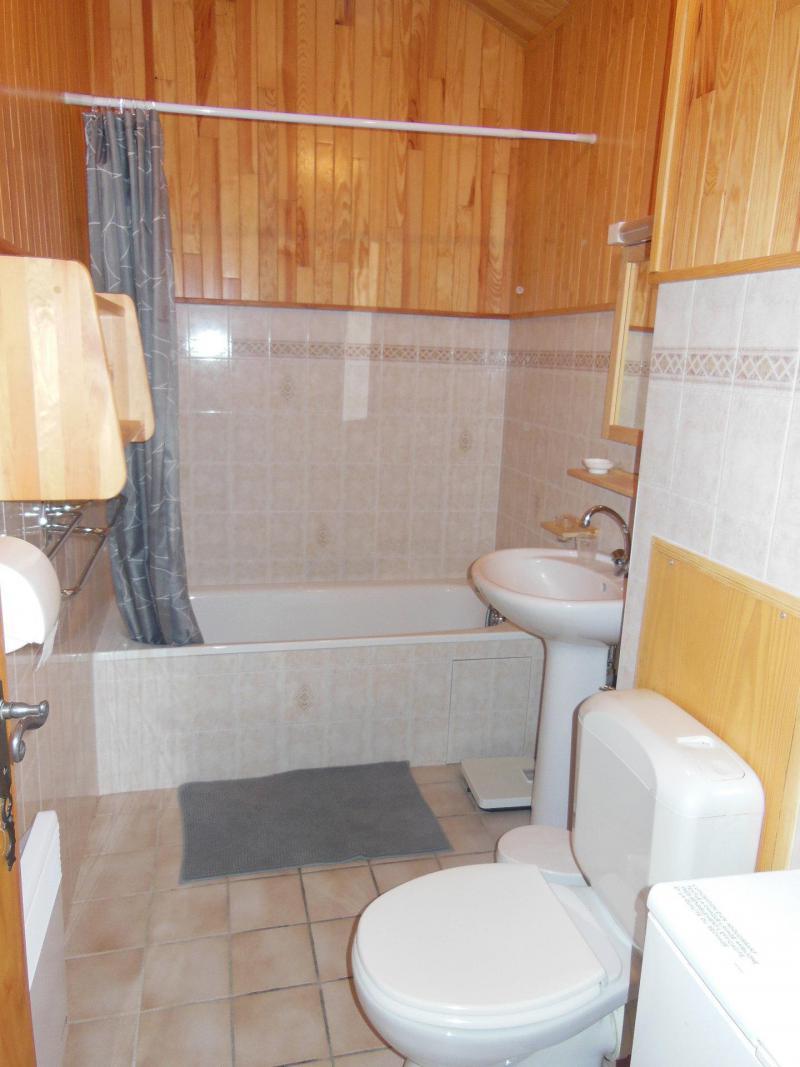 Vacances en montagne Appartement 3 pièces cabine 6 personnes (033CL) - Résidence le Chardonnet - Champagny-en-Vanoise - Baignoire