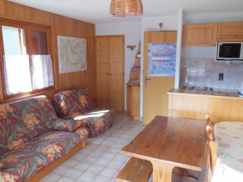 Vacances en montagne Studio coin montagne 4 personnes (018CL) - Résidence le Chardonnet - Champagny-en-Vanoise - Séjour