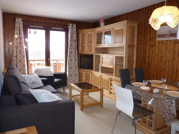 Holiday in mountain resort Studio 4 people (001) - Résidence le Charvet - Le Grand Bornand
