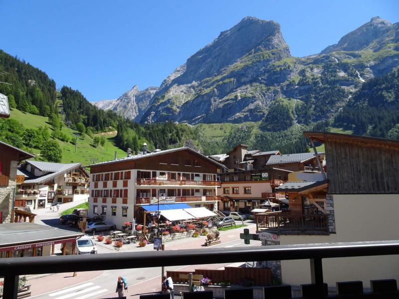 Wakacje w górach Studio 4 osoby (24B) - Résidence le Chasseforêt - Pralognan-la-Vanoise - Na zewnątrz latem