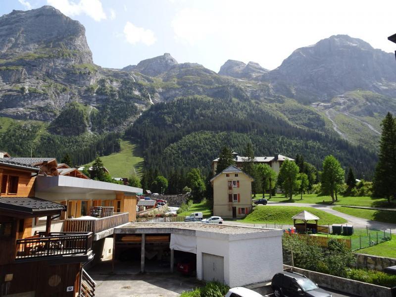 Wakacje w górach Apartament 2 pokojowy 4 osób (20A) - Résidence le Chasseforêt - Pralognan-la-Vanoise - Na zewnątrz latem
