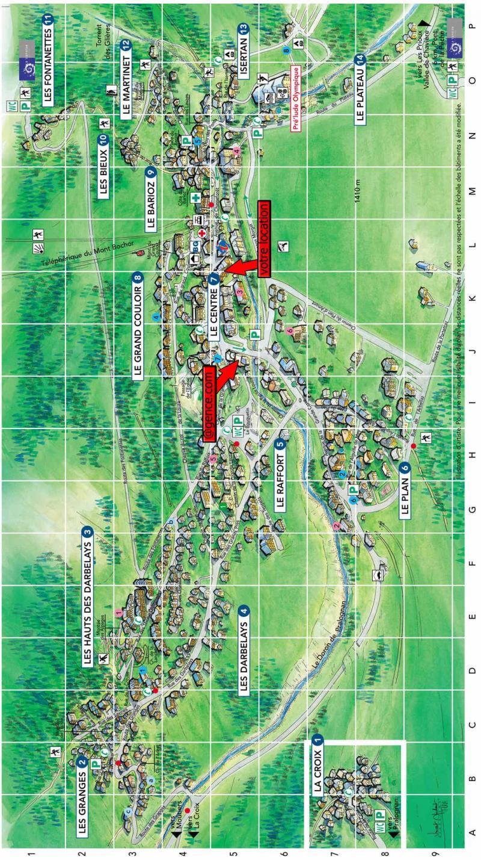 Wakacje w górach Résidence le Chasseforêt - Pralognan-la-Vanoise - Plan