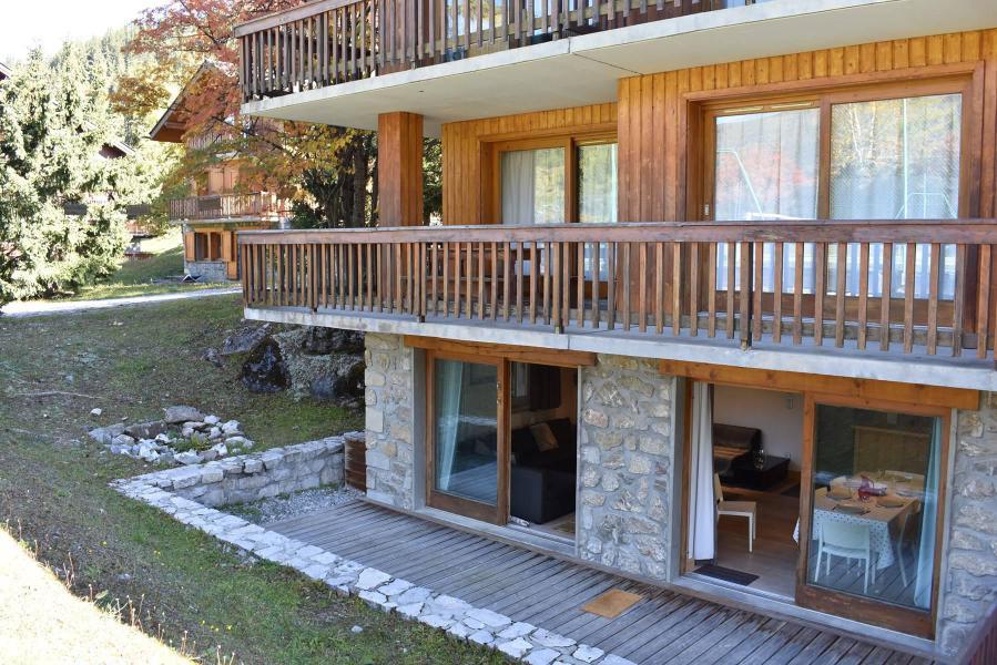 Vacances en montagne Appartement 4 pièces 6 personnes (1) - Résidence le Chasseforêt - Méribel - Extérieur été