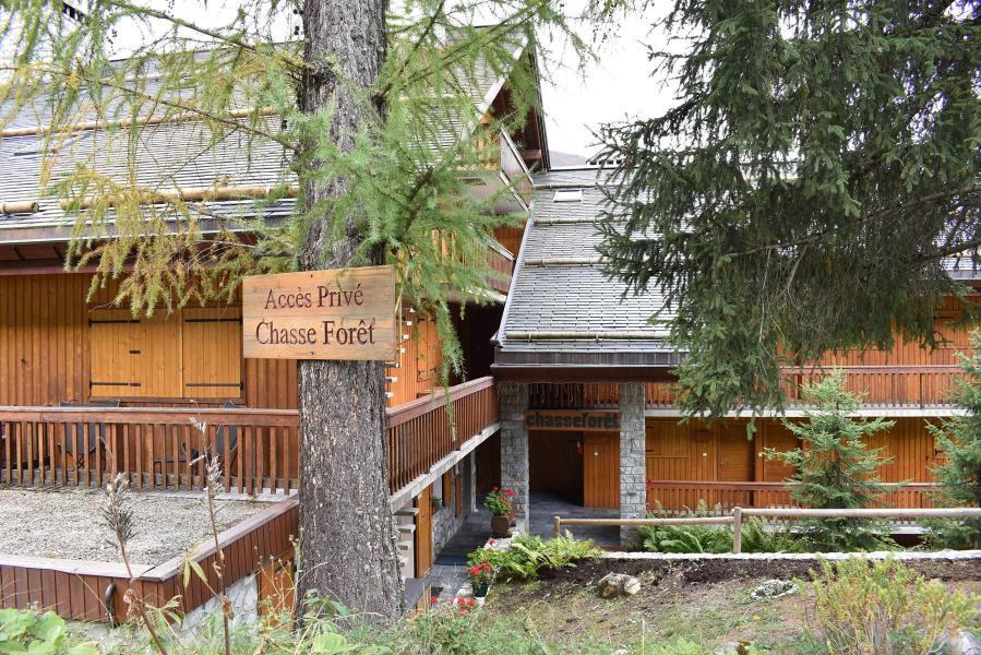 Vacances en montagne Résidence le Chasseforêt - Méribel