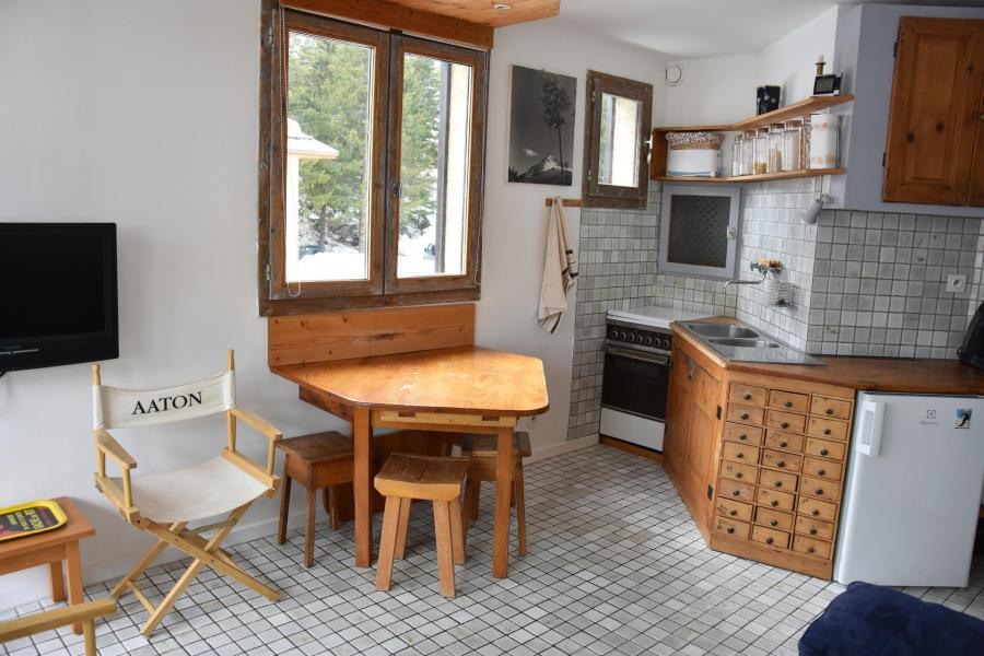 Wakacje w górach Apartament 2 pokojowy 4 osób (15A) - Résidence le Chasseforêt - Pralognan-la-Vanoise - Aneks kuchenny