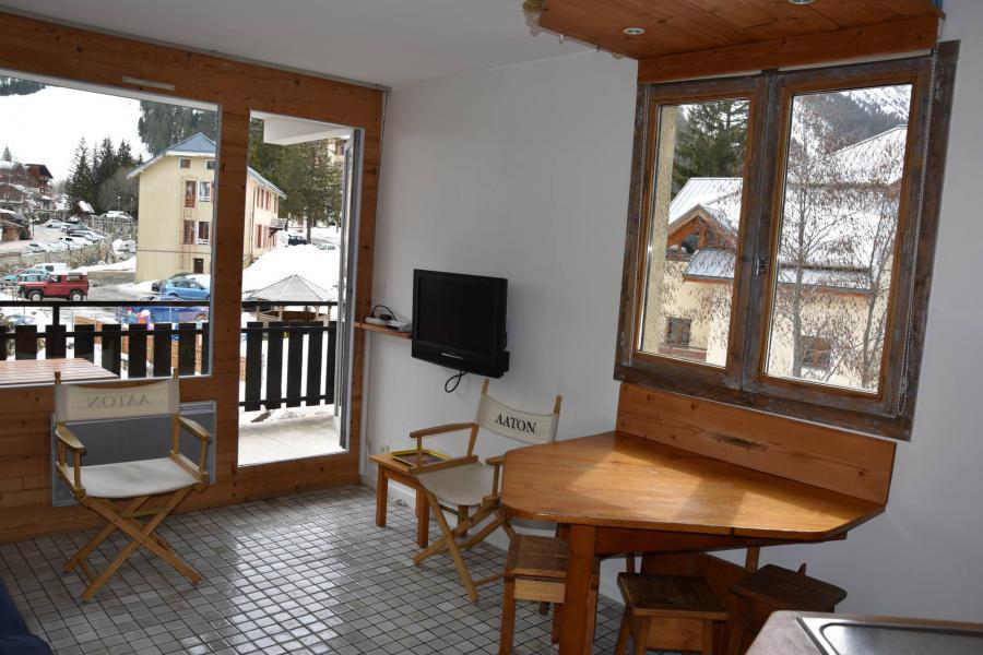 Wakacje w górach Apartament 2 pokojowy 4 osób (15A) - Résidence le Chasseforêt - Pralognan-la-Vanoise - Pokój gościnny