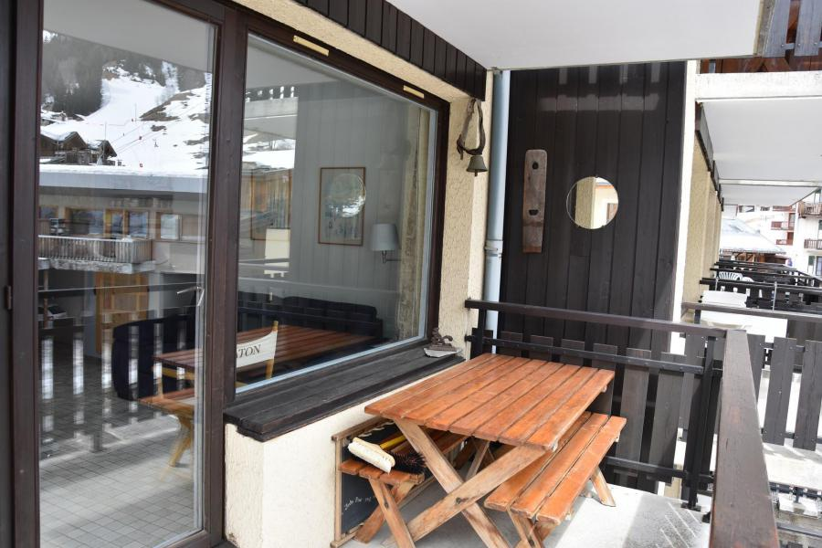 Wakacje w górach Apartament 2 pokojowy 4 osób (15A) - Résidence le Chasseforêt - Pralognan-la-Vanoise - Taras
