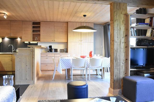 Vacances en montagne Appartement 4 pièces 6 personnes (1) - Résidence le Chasseforêt - Méribel - Salle à manger