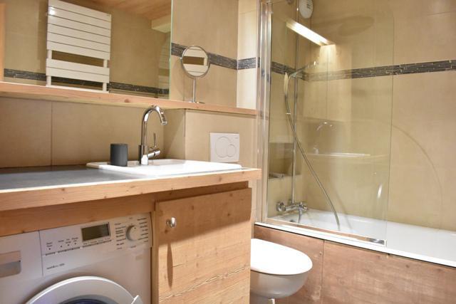Vacances en montagne Appartement 4 pièces 6 personnes (1) - Résidence le Chasseforêt - Méribel - Salle de bains