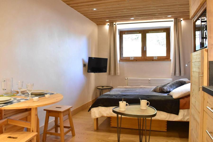 Vacances en montagne Studio 2 personnes (6) - Résidence le Chasseforêt - Méribel - Séjour
