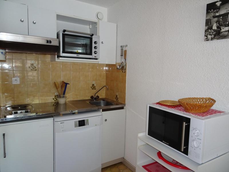 Wakacje w górach Studio 4 osoby (24B) - Résidence le Chasseforêt - Pralognan-la-Vanoise - Kuchnia