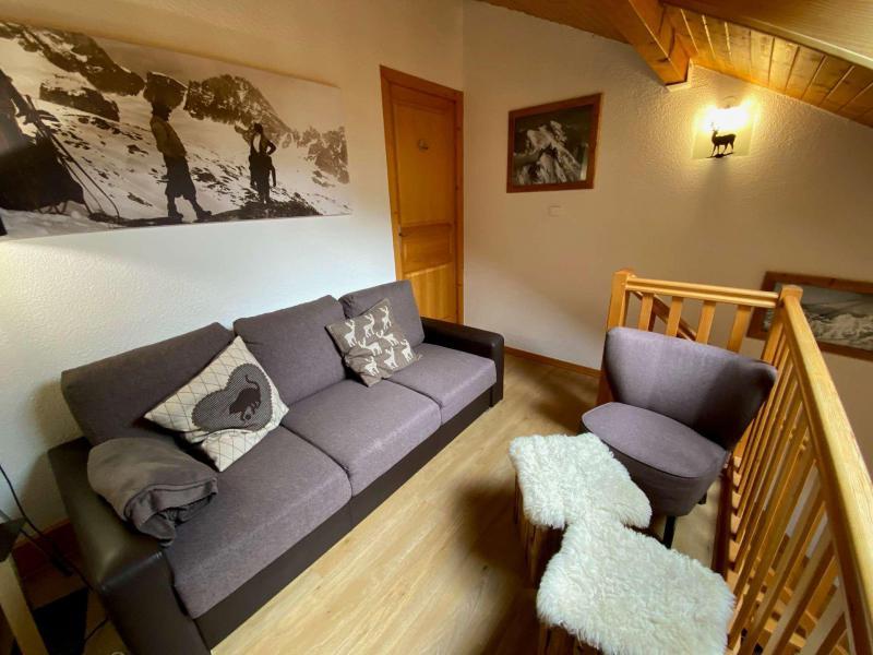 Urlaub in den Bergen Wohnung 2 Mezzanine Zimmer 4 Leute (009) - Résidence le Château - Le Grand Bornand