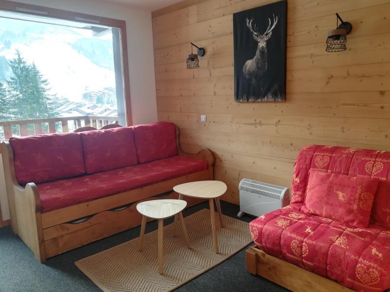 Vacances en montagne Appartement 2 pièces 4 personnes (C30) - Résidence le Cheval Blanc - Valmorel - Banquette-lit