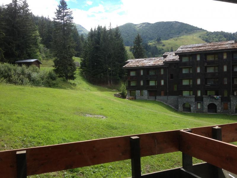 Vacances en montagne Résidence le Cheval Noir - Valmorel - Extérieur été