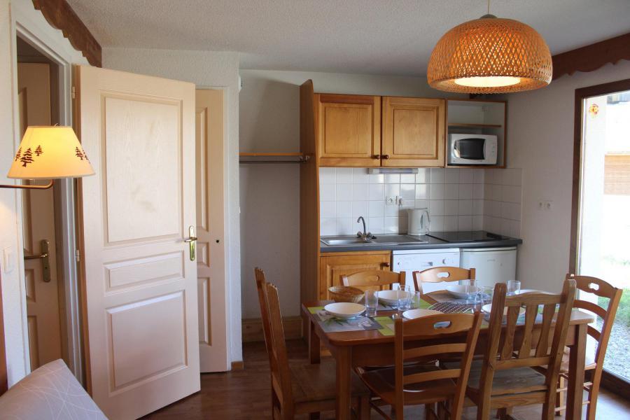 Vacaciones en montaña Apartamento 3 piezas para 6 personas (404) - Résidence le Chevreuil la Crête du Berger - La Joue du Loup - Cocina