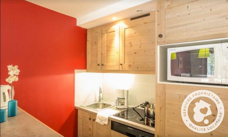 Аренда на лыжном курорте Апартаменты 2 комнат 5 чел. (Sélection 35m²-2) - Résidence le Christiana - Maeva Home - La Tania - летом под открытым небом