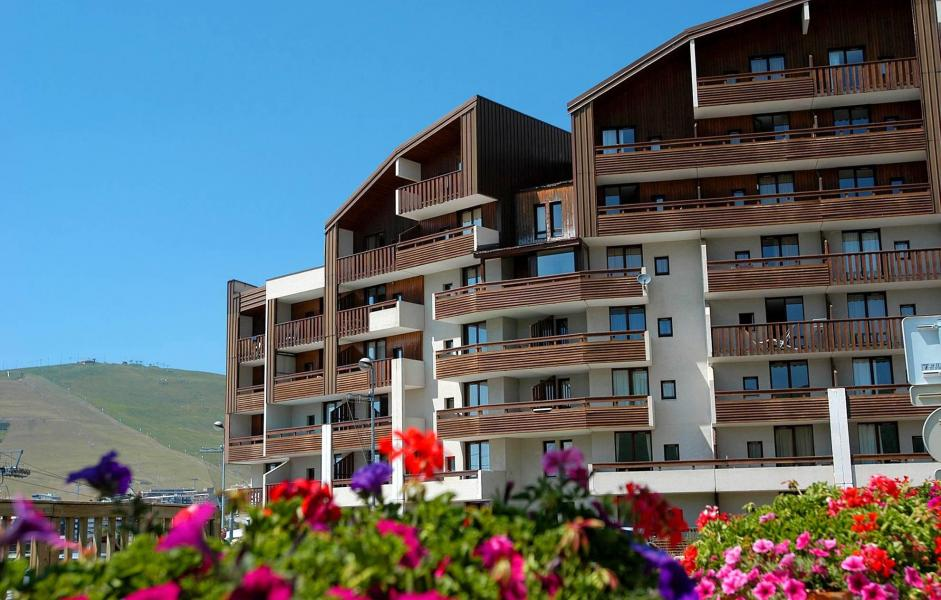 Location au ski Résidence le Christiania - Alpe d'Huez - Extérieur été