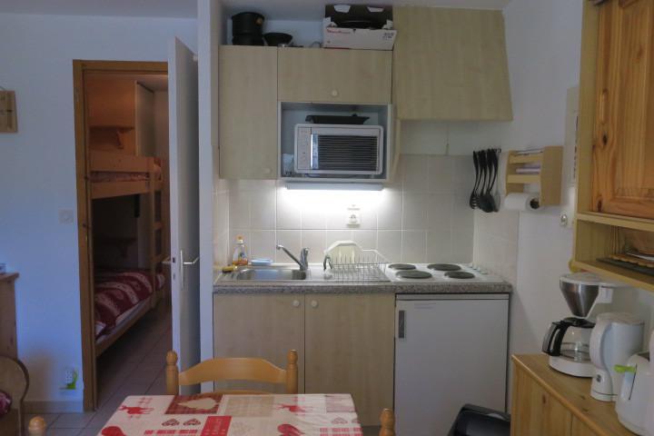Vacances en montagne Appartement 2 pièces 5 personnes (CR34) - Résidence le Christina - Châtel - Kitchenette